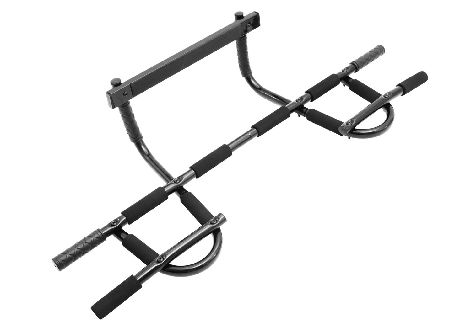 Prosource Multi Grip Chin Up Pull Bar Heavy Duty Doorway Trainer For Home Gym